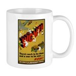 Women Power Now Poster Art Mug