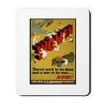 Women Power Now Poster Art Mousepad
