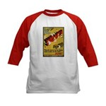 Women Power Now Poster (Front) Kids Baseball Jerse