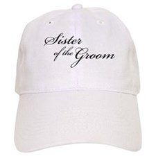 Sister of the Groom (FF) Baseball Cap