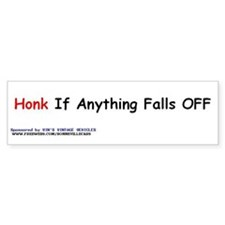 The Junker Bumper Bumper Sticker