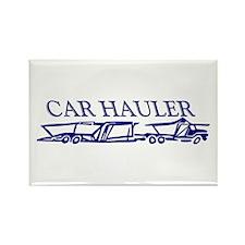 Car Hauler (tm) Rectangle Magnet