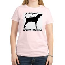 ADOPTED by Plott Hound T-Shirt