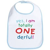 Onederful 1st Birthday First Bib