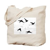 Flock Of Sparrows Tote