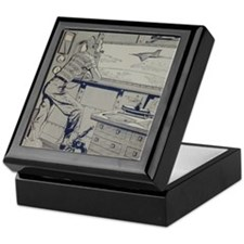 Tom Swift Jr. Keepsake Box