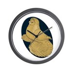 Yellow Trumpeter Wall Clock