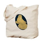 Yellow Trumpeter Tote Bag