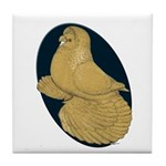 Yellow Trumpeter Tile Coaster