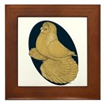 Yellow Trumpeter Framed Tile