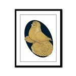 Yellow Trumpeter Framed Panel Print