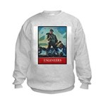 Army Corps of Engineers (Front) Kids Sweatshirt