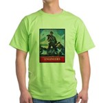 Army Corps of Engineers Green T-Shirt