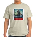 Army Corps of Engineers (Front) Ash Grey T-Shirt