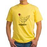 California White Hen Yellow T-Shirt