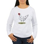 California White Hen Women's Long Sleeve T-Shirt