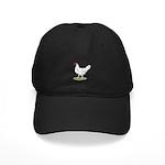 California White Hen Black Cap