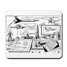 Tom Swift Junior Drawing Board Mousepad
