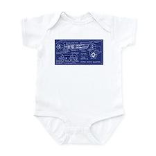 Atomic Earth Blaster Infant Bodysuit