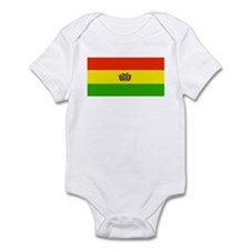 Bolivia Blank Flags Infant Creeper