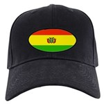 Bolivia Blank Flags Black Cap