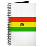 Bolivia Blank Flags Journal