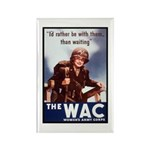 WAC Women's Army Corps Rectangle Magnet (10 pack)
