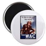 WAC Women's Army Corps Magnet