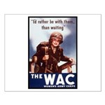 WAC Women's Army Corps Small Poster