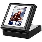WAC Women's Army Corps Keepsake Box