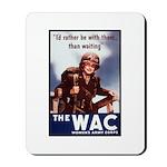 WAC Women's Army Corps Mousepad
