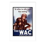 WAC Women's Army Corps Postcards (Package of 8)