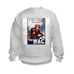 WAC Women's Army Corps Kids Sweatshirt