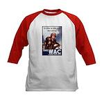 WAC Women's Army Corps (Front) Kids Baseball Jerse