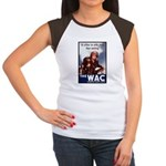 WAC Women's Army Corps (Front) Women's Cap Sleeve