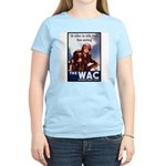 WAC Women's Army Corps (Front) Women's Pink T-Shir