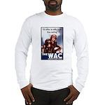 WAC Women's Army Corps Long Sleeve T-Shirt