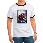 WAC Women's Army Corps (Front) Ringer T