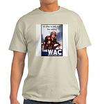 WAC Women's Army Corps Ash Grey T-Shirt