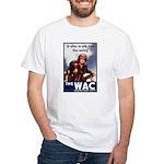 WAC Women's Army Corps White T-Shirt