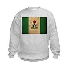 Vintage Nigeria Flag Sweatshirt
