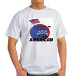 Born American Ash Grey T-Shirt