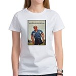 Patriotic Wounded Soldier (Front) Women's T-Shirt