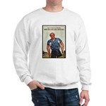 Patriotic Wounded Soldier (Front) Sweatshirt