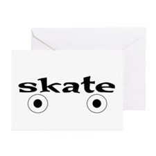 Roller Skate Greeting Cards (Pk of 10)