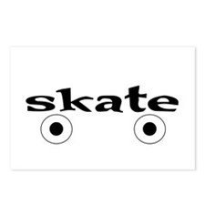 Roller Skate Postcards (Package of 8)