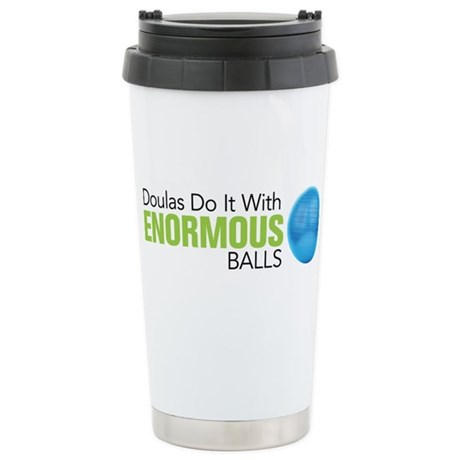 Doulas Do It With Enormous Balls Ceramic Travel Mu