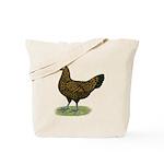 Hamburg Golden Spangled Hen Tote Bag