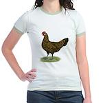 Hamburg Golden Spangled Hen Jr. Ringer T-Shirt