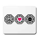 PeaceLoveLost Mousepad